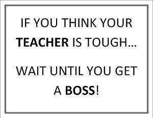 Tough Teachers
