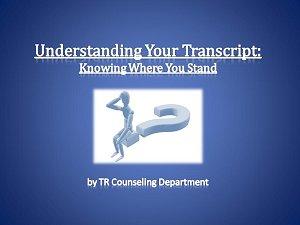 Understanding Your Transcript