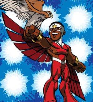 Falcon Super Hero